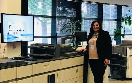Platinum Copier Salesperson Shines at Sharp's National Demo Contest
