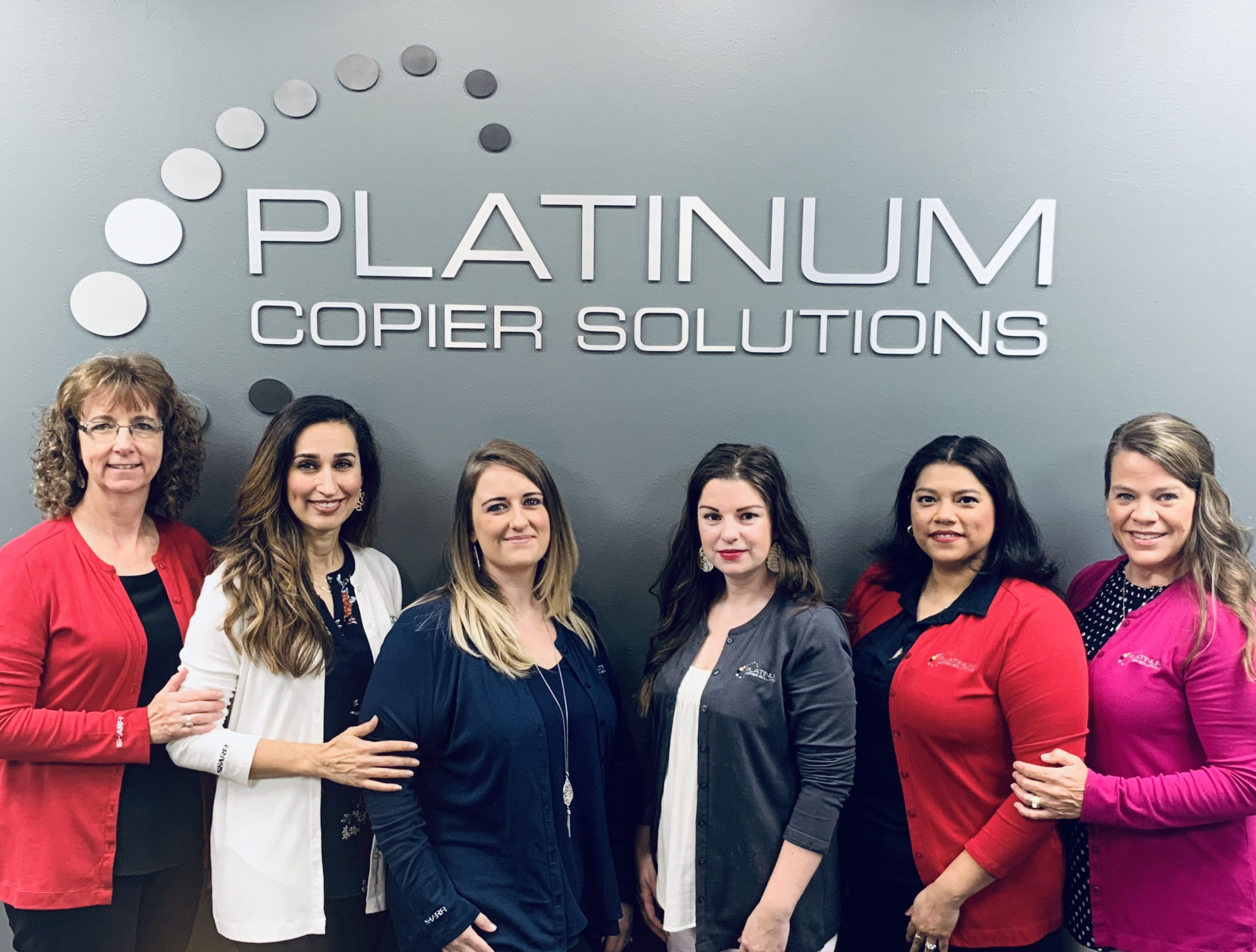 Platinum Copiers Houston Texas Service Team