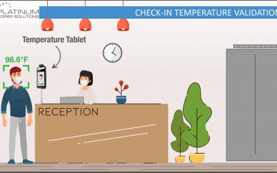 Temperature Kiosks from Platinum Copier Solutions